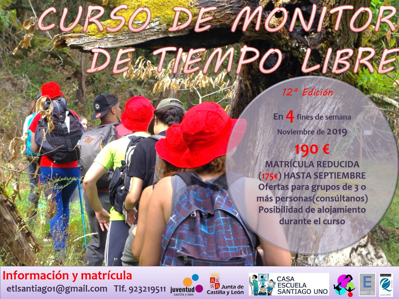 Cartel Monitores 2019